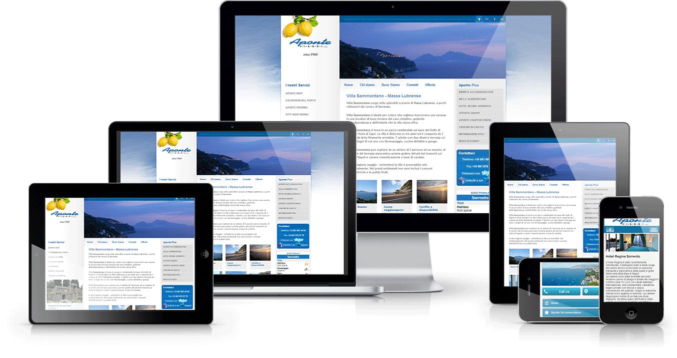 Web design for manufacturer marketing