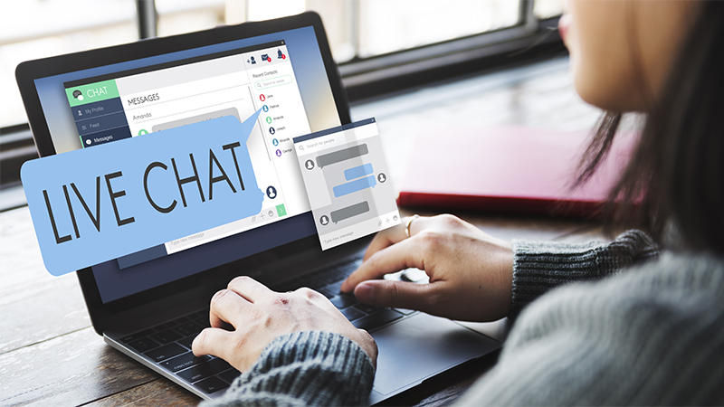 live chat for manufacturers